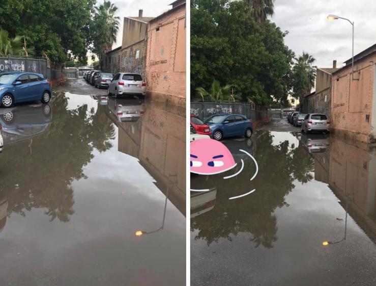 """Un vecindario de Orihuela denuncia la """"piscina"""" que anega su calle cada vez que llueve 6"""