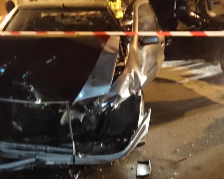 Dos hombres resultan heridos en un accidente en San Isidro 6