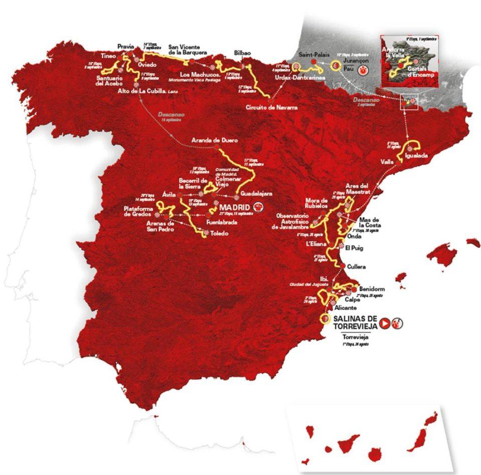 Desvelado el recorrido de una Vuelta a España que partirá desde Torrevieja 6