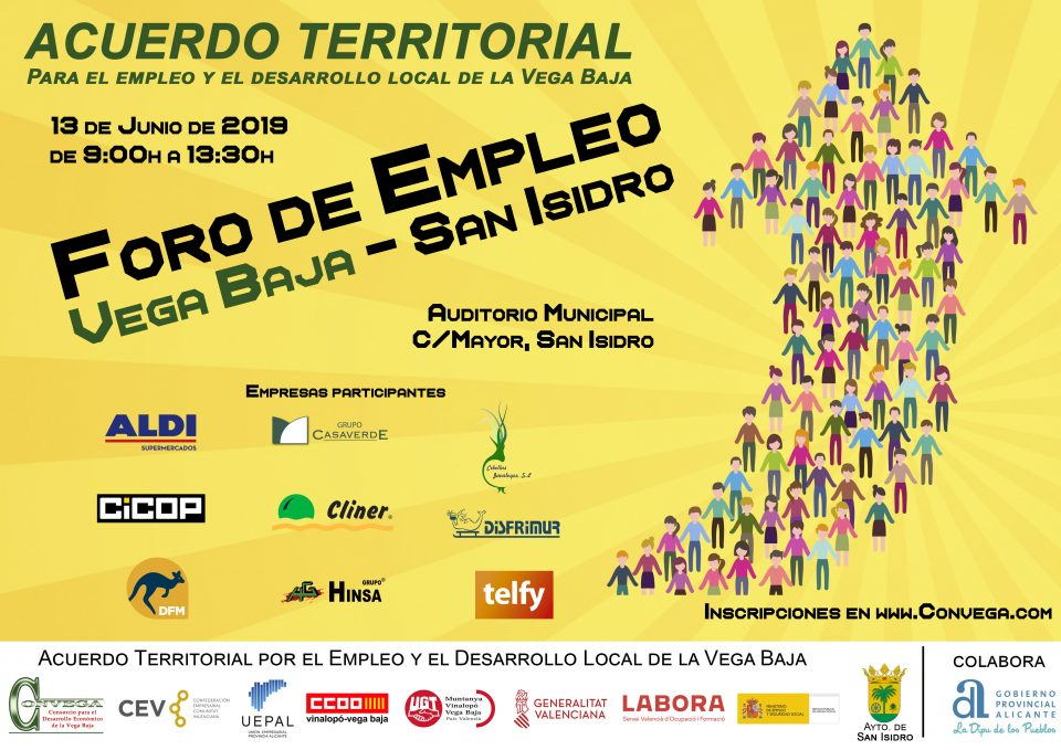 """San Isidro acogerá una nueva edición de los """"Foros de  Empleo"""" 6"""