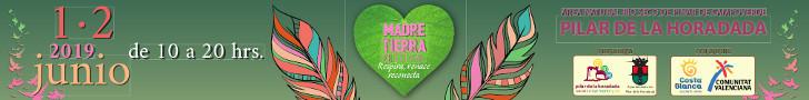 AYTO PILAR FESTIVAL MADRE TIERRA CINTA FLOTANTE 25 AL 31 MAYO