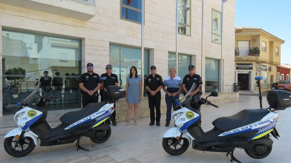 Dos nuevas motos para la Policía de Pilar de la Horadada 6