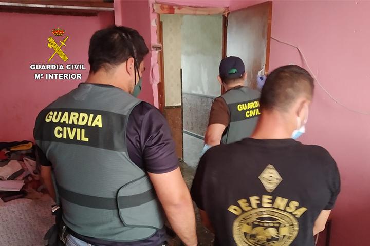 La Guardia Civil desmantela un grupo criminal dedicado a la sustracción de cobre 6