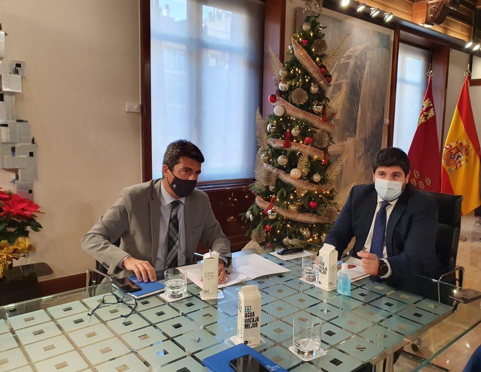 Alicante y Murcia sellan su alianza como Hermanos de Agua 6