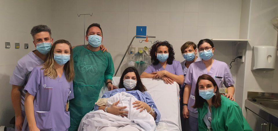 Marta, el primer bebé del año en el Hospital de Torrevieja 6