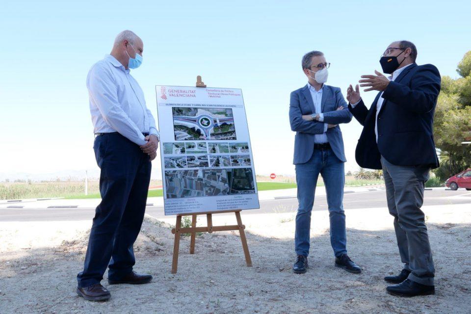 Una nueva rotonda y un carril bici para mejorar la seguridad en la CV-860 en San Fulgencio 6