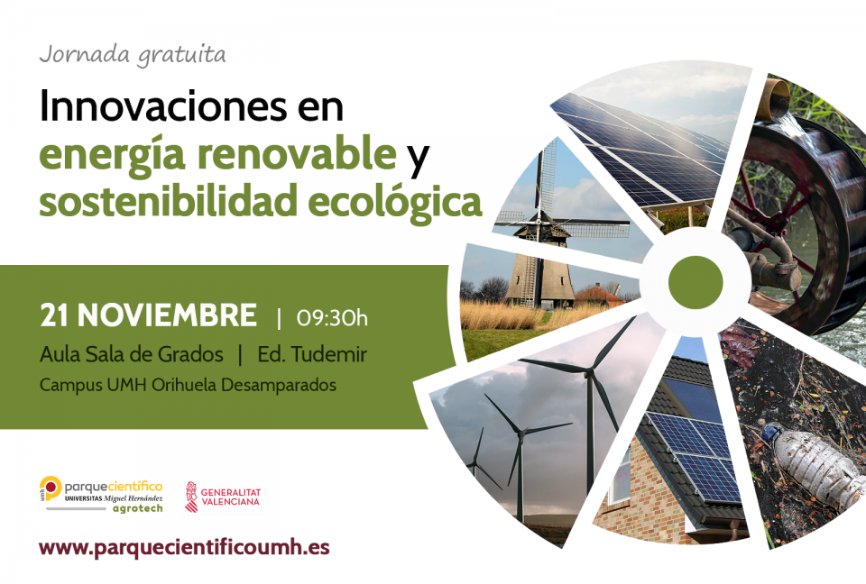 Una jornada de innovaciones en energía renovable y sostenibilidad ecológica 6