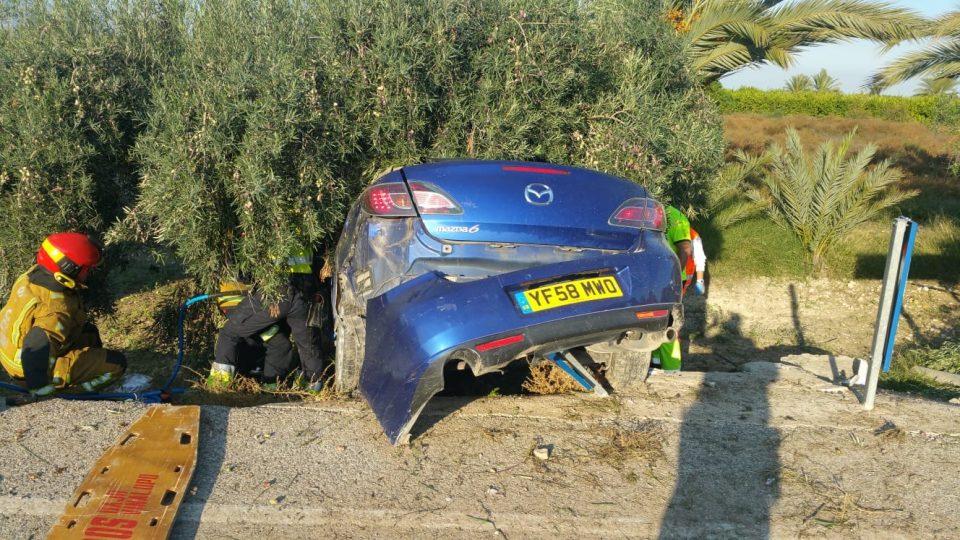 Un fallecido y una herida grave en un accidente ocurrido el sábado en Albatera 6