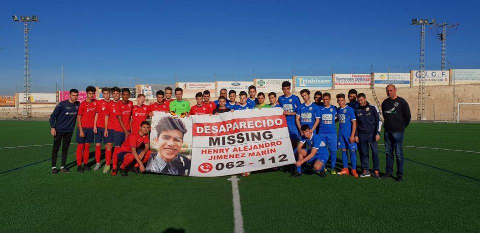 El Racing San Miguel apoya la búsqueda de Henry Alejandro 6