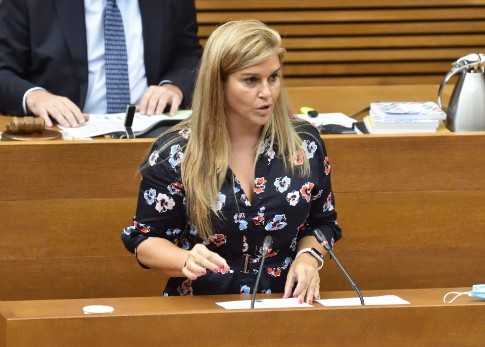 Eva Ortiz demandará al conseller de Hacienda por atacar su honor al implicarla en el caso Brugal 6
