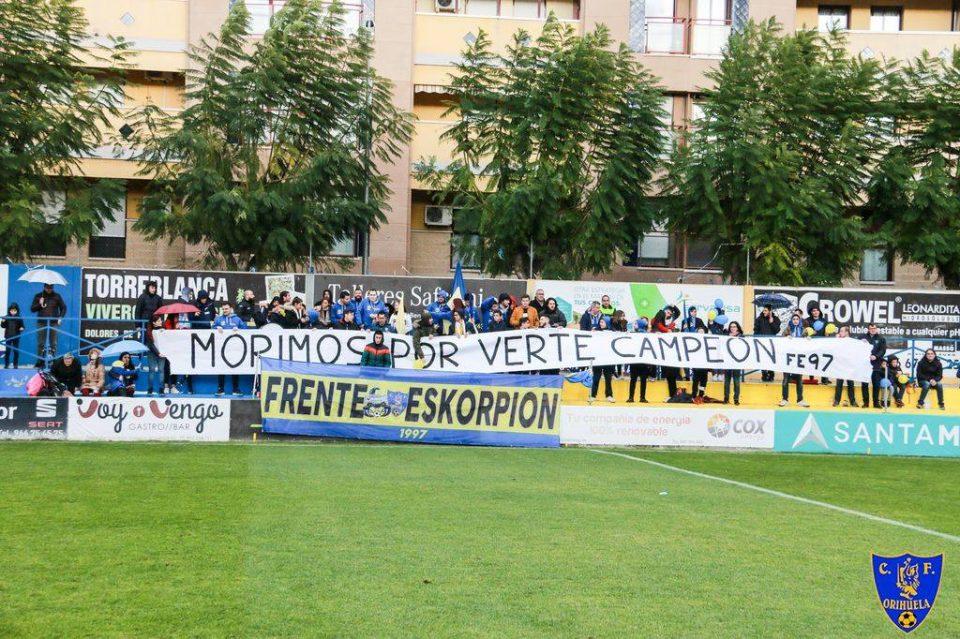 El Orihuela CF defiende liderato en el fortín de Los Arcos 6