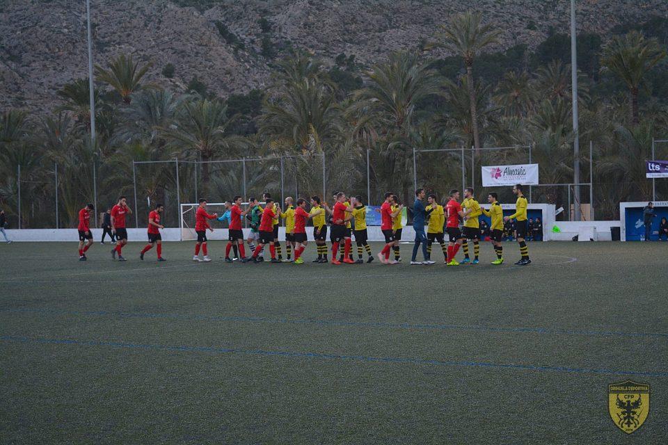 Cuadrado mágico en la jornada de Segunda Regional 6