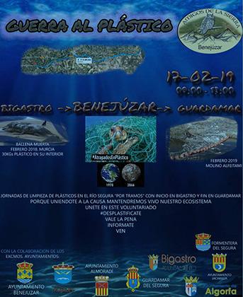 """Declaran la """"guerra contra el plástico"""" en la Vega Baja 6"""