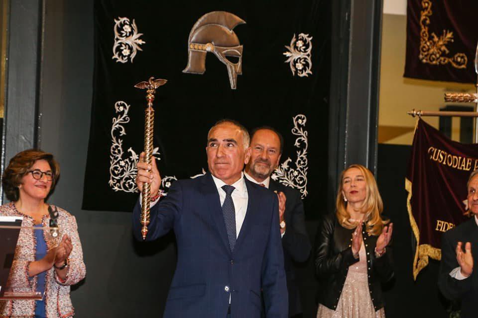 Roberto Pertegal asume su cargo de Pretor XVI de la Cofradía del Ecce-Homo 6