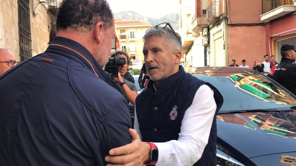El Ministro del Interior Grande-Marlaska visita Orihuela 6