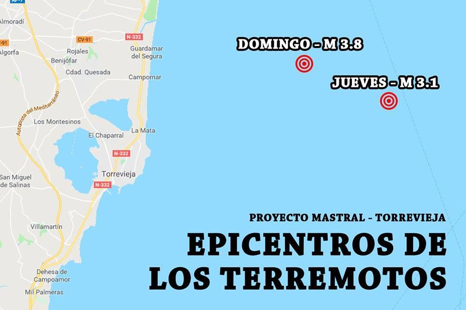 Torrevieja vuelve a sufrir un terremoto, el segundo en 4 días 6