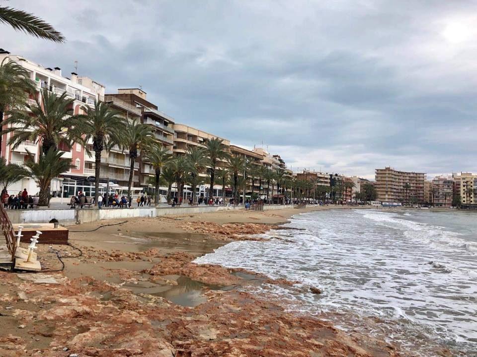 Torrevieja registra uno de los temporales más importantes de su historia 6