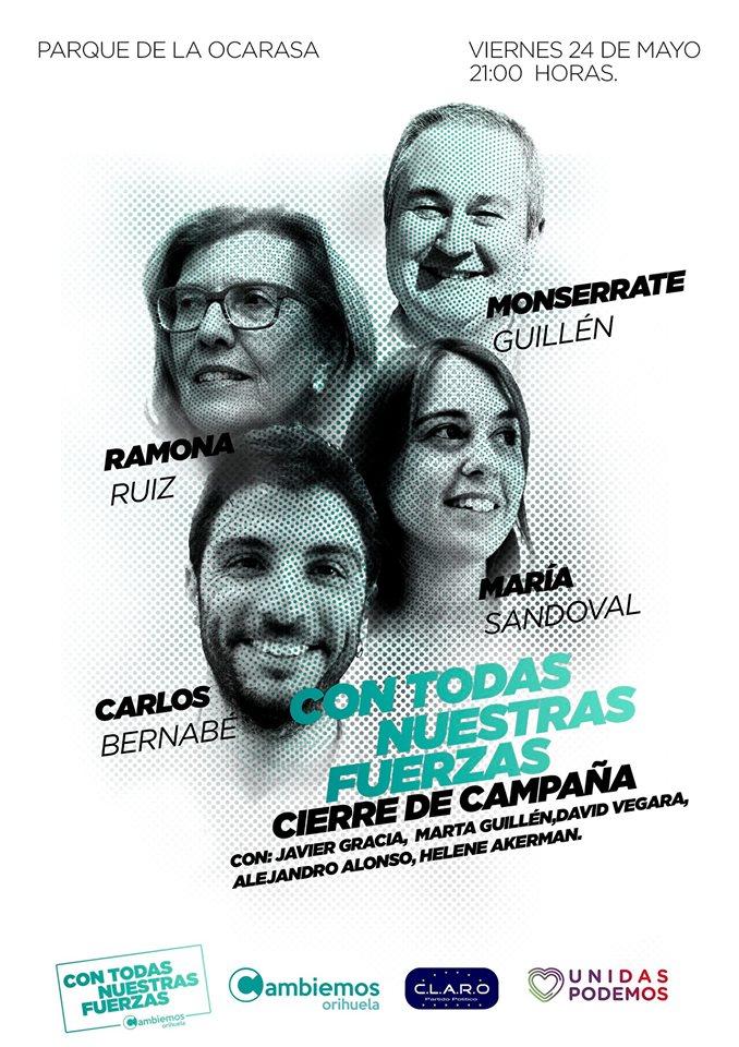 Cambiemos Orihuela cierra su campaña en el Parque de la Ocarasa 6