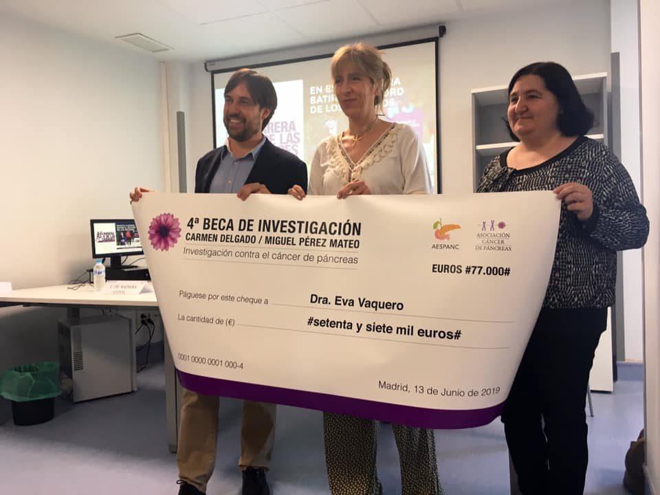 154.000 euros solidarios para investigar contra el cáncer de páncreas 6