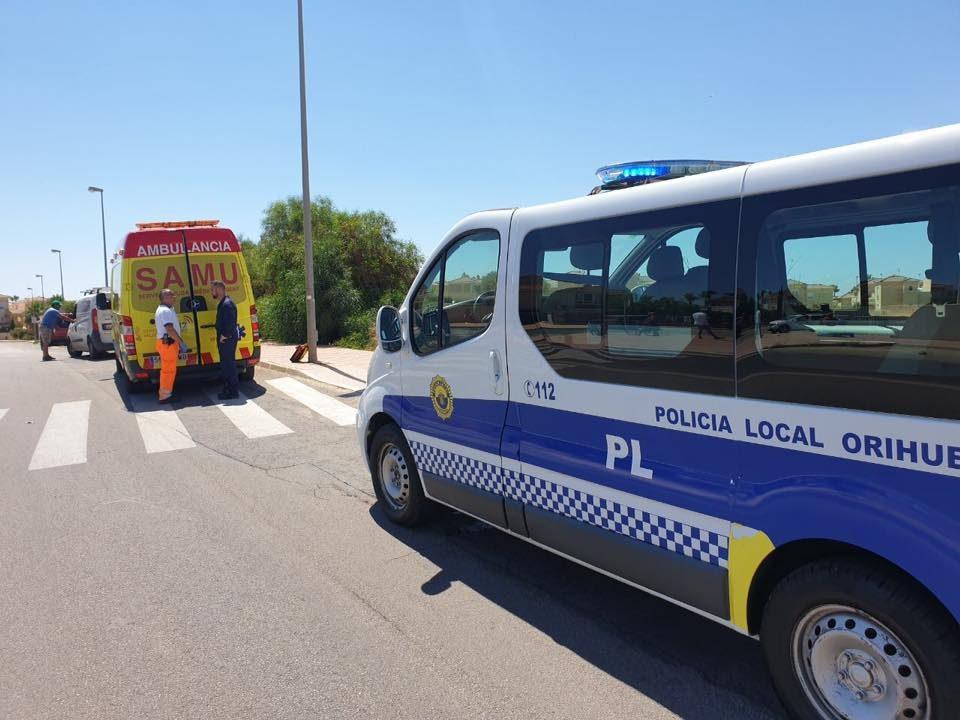 Un atropello en Orihuela y un accidente en Torrevieja dejan dos heridos en la comarca 6