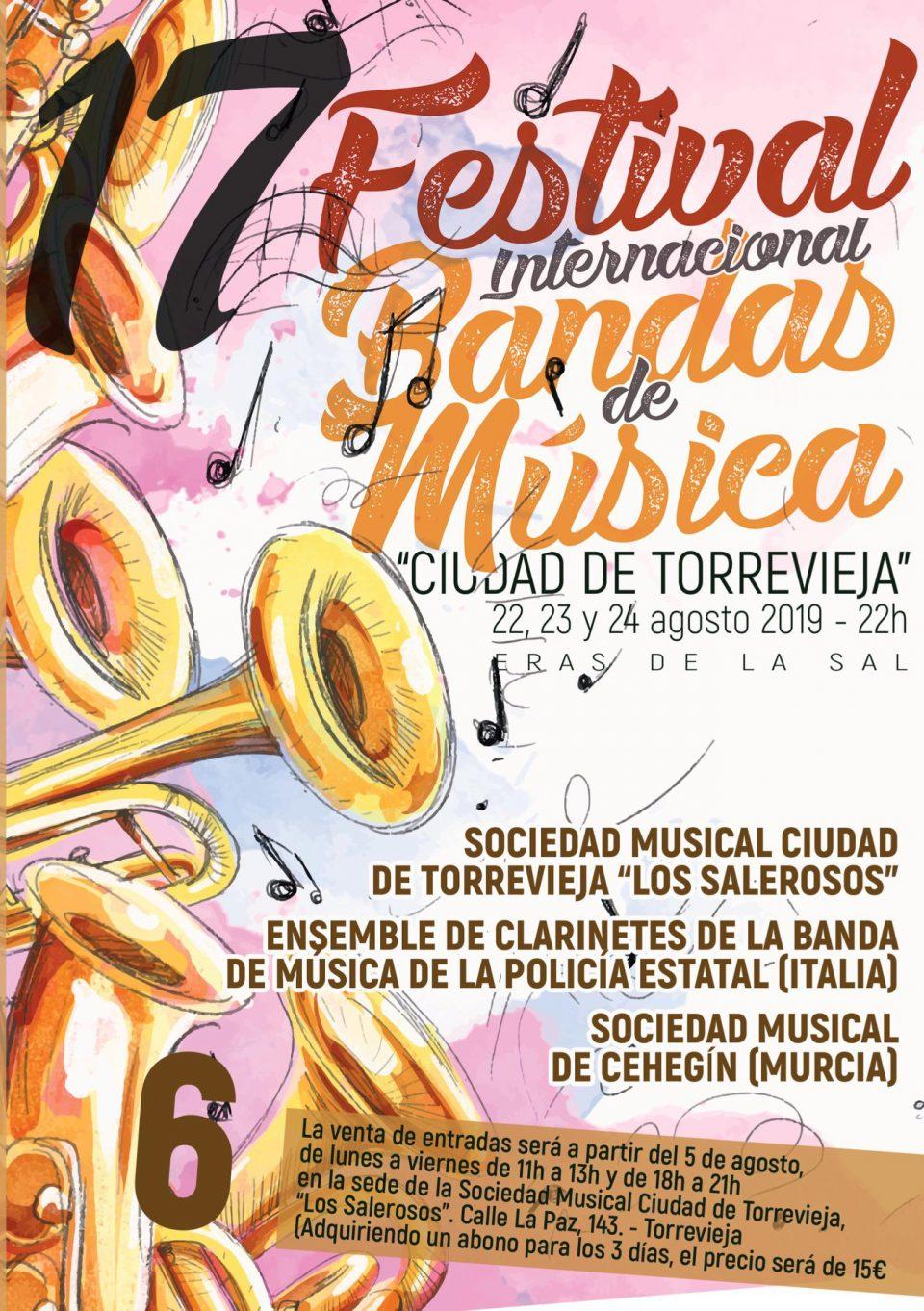 El jueves arranca la décimo séptima edición del Festival Internacional de Bandas 6