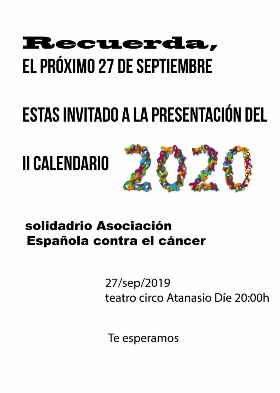 La AECC de Orihuela presenta el II Calendario Solidario 6