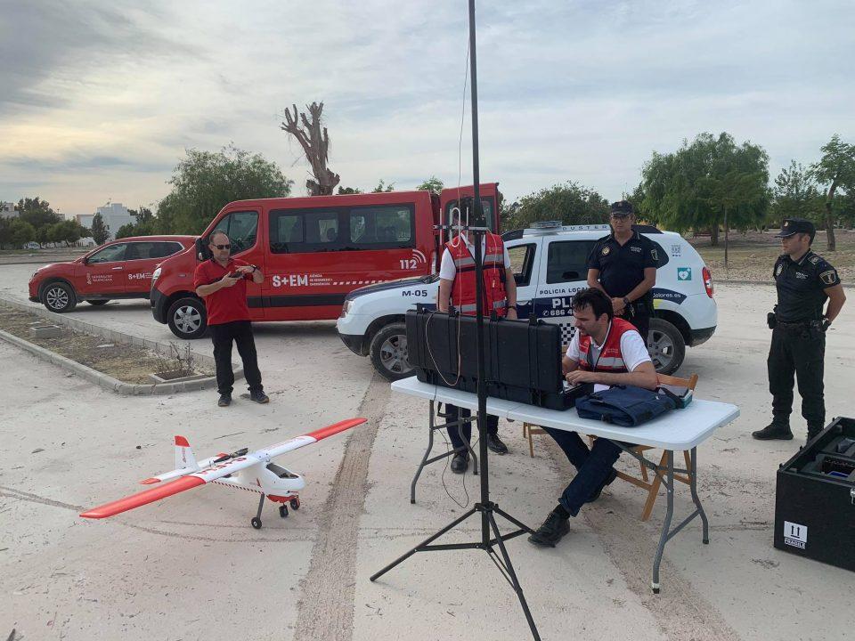 Vuelos con DRON para estudiar las zonas afectadas de Dolores 6