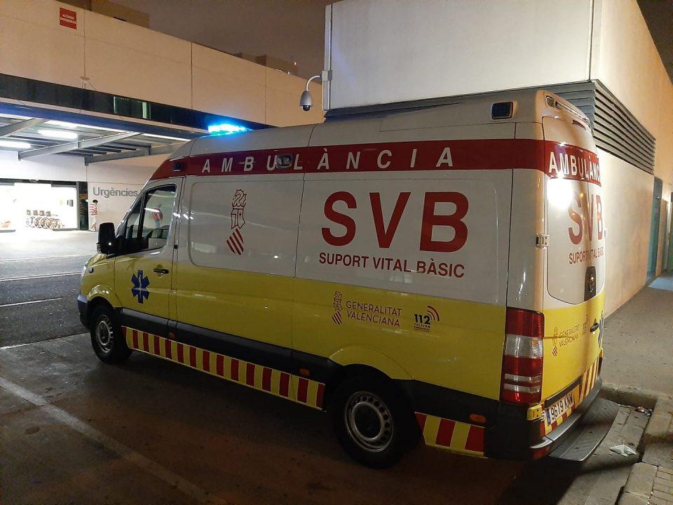 Un accidente en el casco urbano de Orihuela deja un herido 6