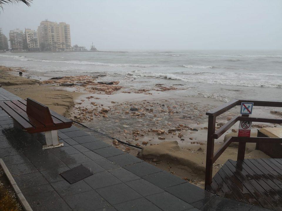 El Consell inicia actuaciones para paliar los daños producidos por las fuertes lluvias 6