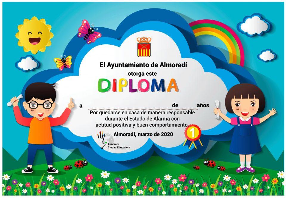 Almoradí, ejemplo internacional por su labor con los niños durante la cuarentena 6