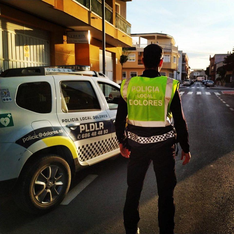 Una actuación heroica de la Policía Local de Dolores 6