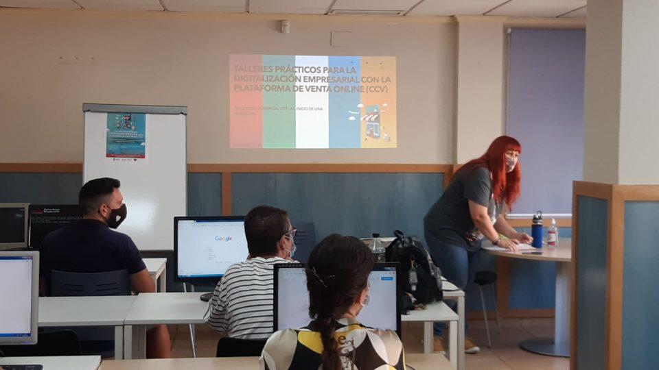 Guardamar arranca los talleres prácticos para la digitalización empresarial 6