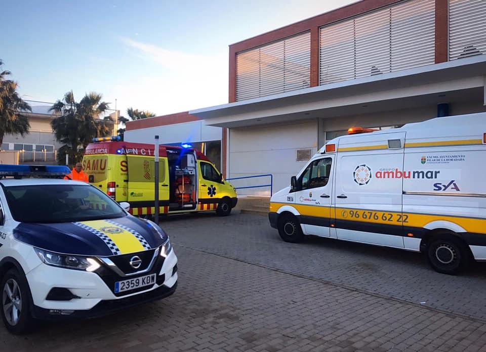 Dos ciclistas heridos por sendos accidentes en Orihuela y Torrevieja 6