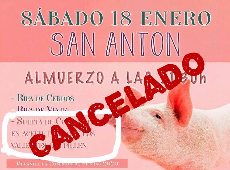 La Comisión de Fiestas de La Murada cancela la suelta de cochinillos en aceite 6