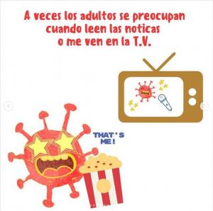 Un cuento que explica a los niños qué es el coronavirus y cómo evitarlo 10