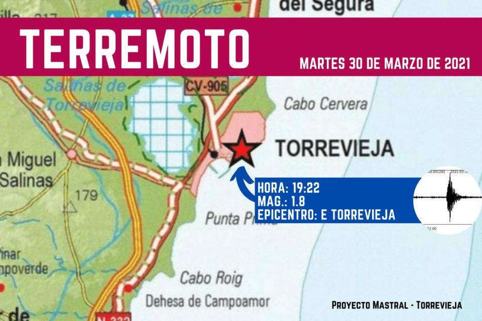 Un terremoto con epicentro en Torrevieja se deja notar en zonas adyacentes 6