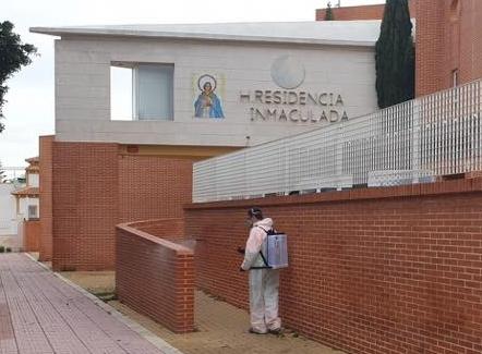 En cuarentena un tercio de la plantilla de la residencia La Inmaculada de Torrevieja 6