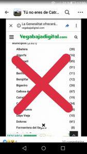 Cuidado, circula un bulo sobre casos positivos con la marca de Vegabajadigital 7