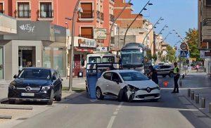 Un accidente de tráfico en Pilar de la Horadada provoca el corte temporal de la AP-7 7