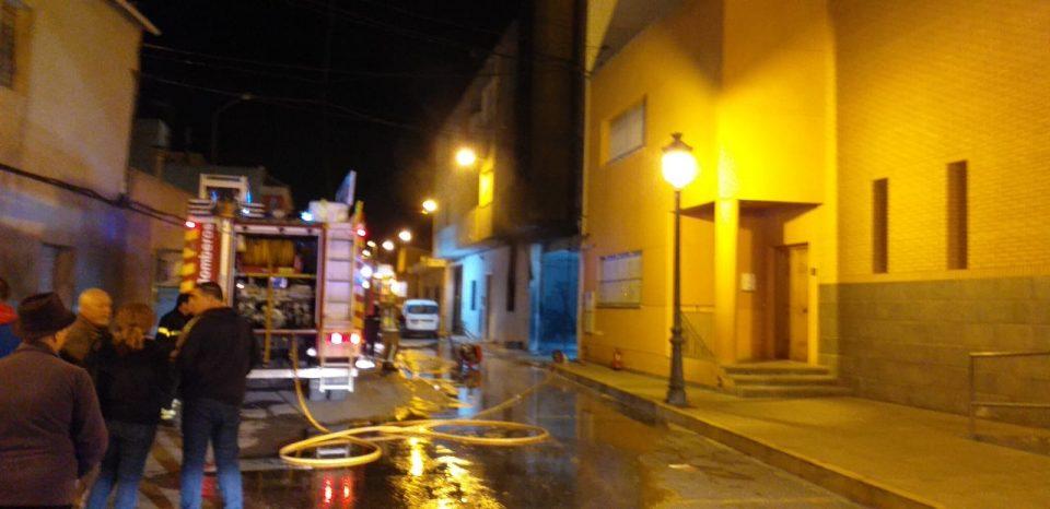 Susto en San Bartolomé por el incendio de un edificio 6