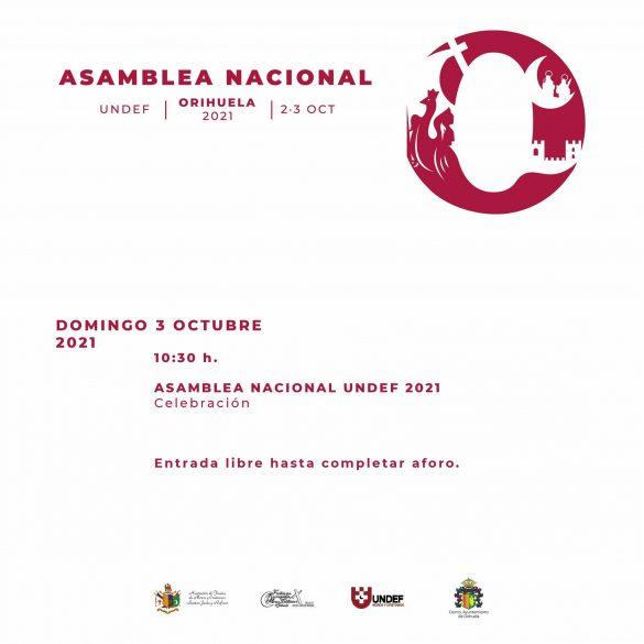 Orihuela acogerá la Asamblea Nacional de la Unión Nacional de Entidades Festeras de Moros y Cristianos 8
