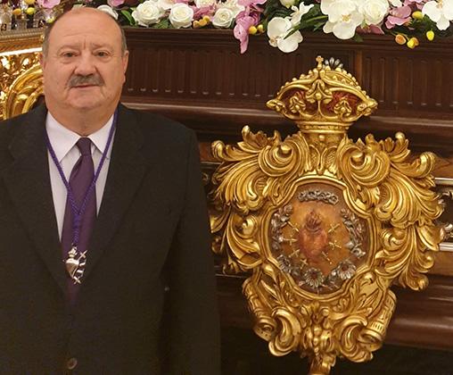 Adrián Ruiz Bas, Portaguión 2019 de la Mayordomía de los Dolores 6