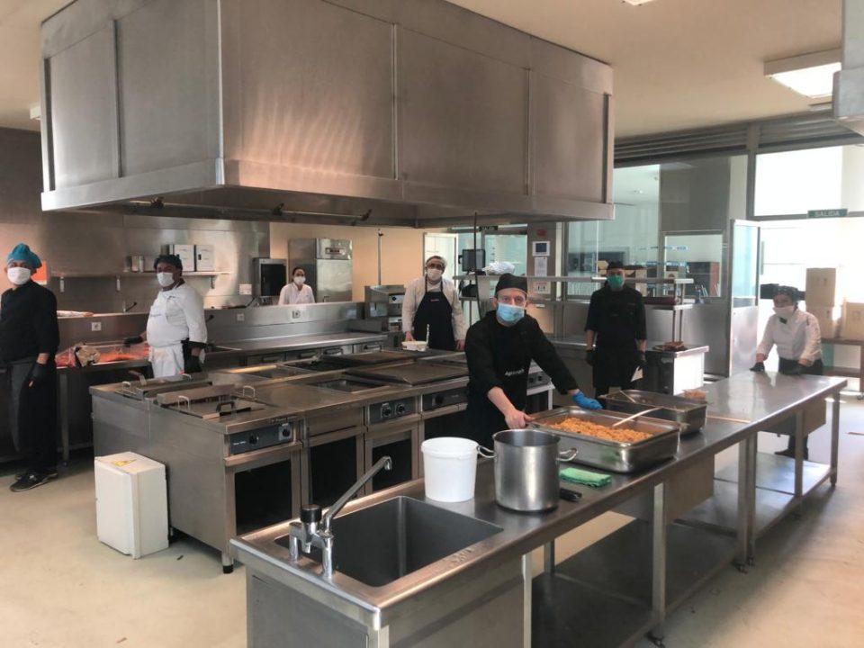 El CDT de Torrevieja se convierte en la cocina solidaria de la Vega Baja 6