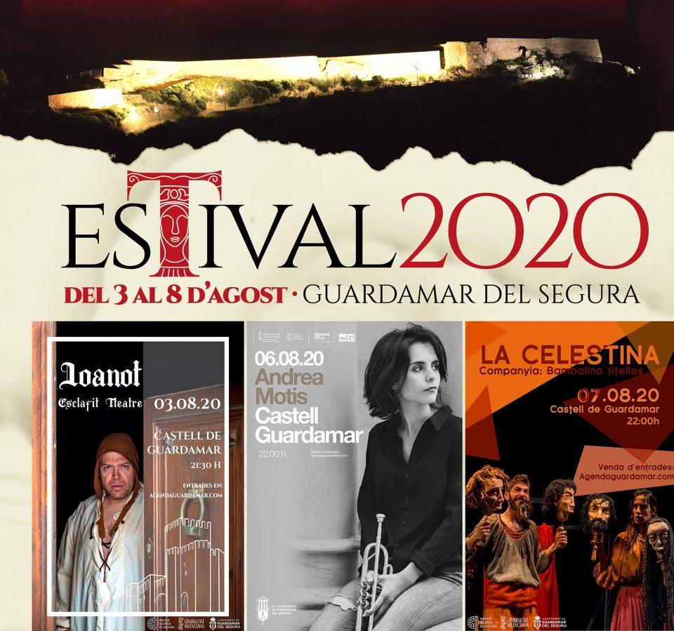 El Castell de Guardamar continúa celebrando el Estival 2020 6