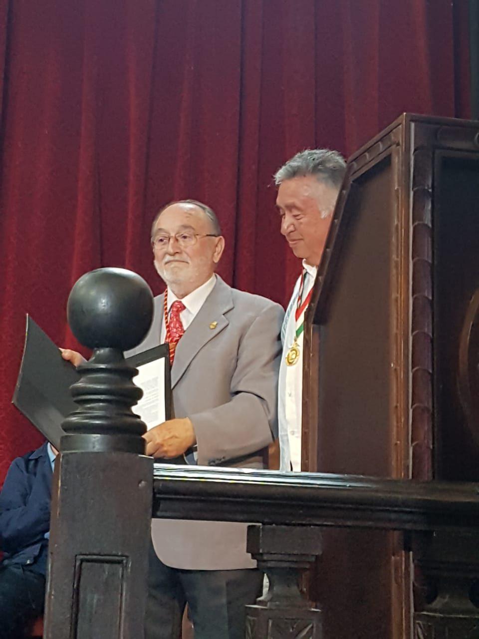 Antonio Luis Galiano, socio honorario de la Sociedad Mexicana de Geografía y Estadística 6