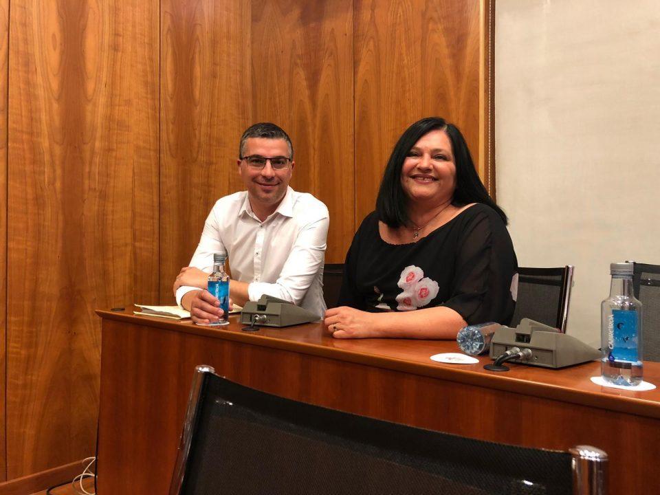 Los ex ediles Antonio Zapata y Carmen Gutiérrez vuelven al PSOE 6