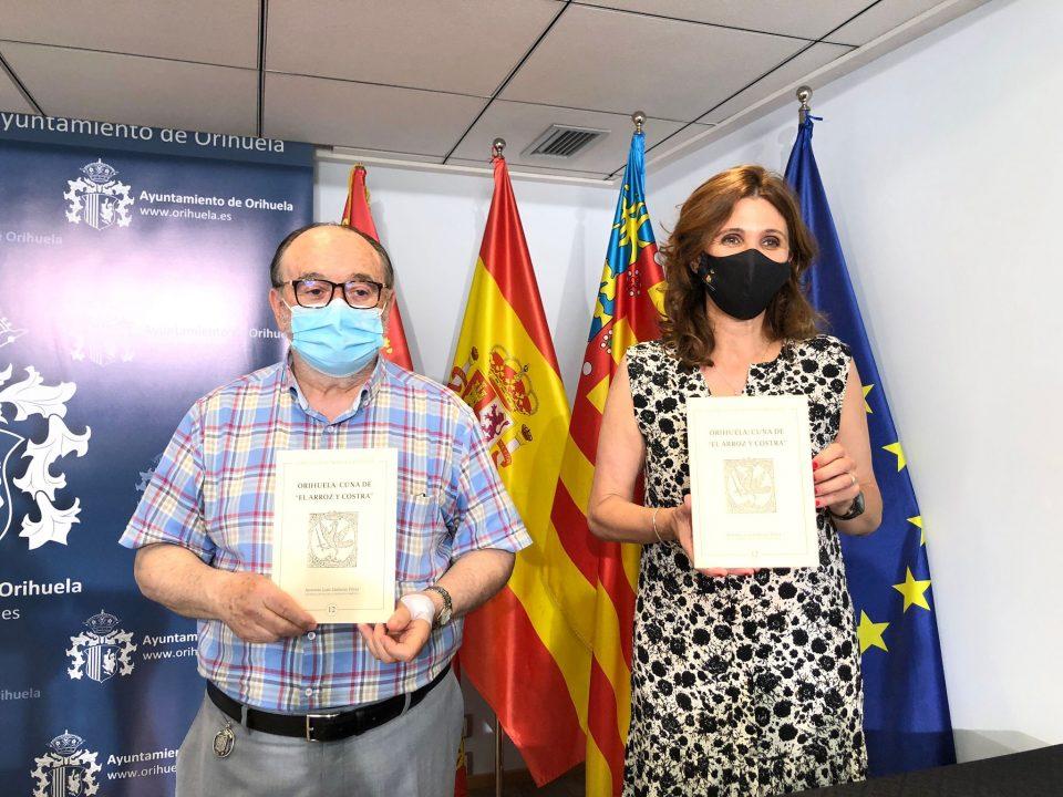 """Turismo presenta el libro """"Orihuela: Cuna de El Arroz y Costra"""", escrito por Antonio L. Galiano 6"""
