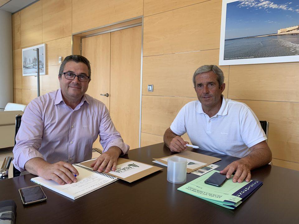 El alcalde de Pilar de la Horadada se reúne con ASAJA 6