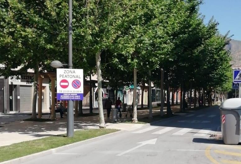 La Avenida Teodomiro será peatonal todas las noches y los fines de semana 6