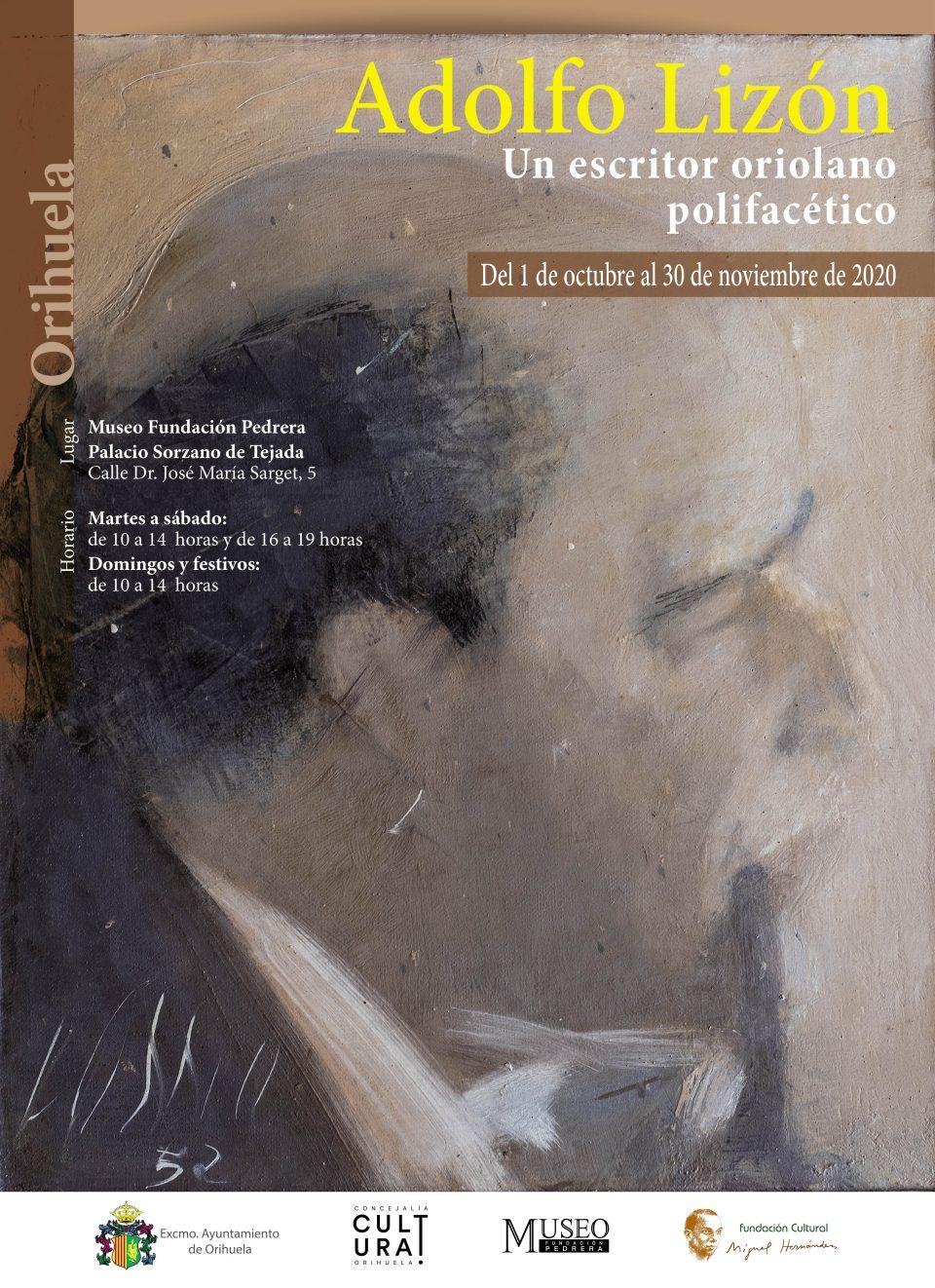 El jueves se presenta la muestra sobre el escritor y periodista oriolano Adolfo Lizón Gadea 6
